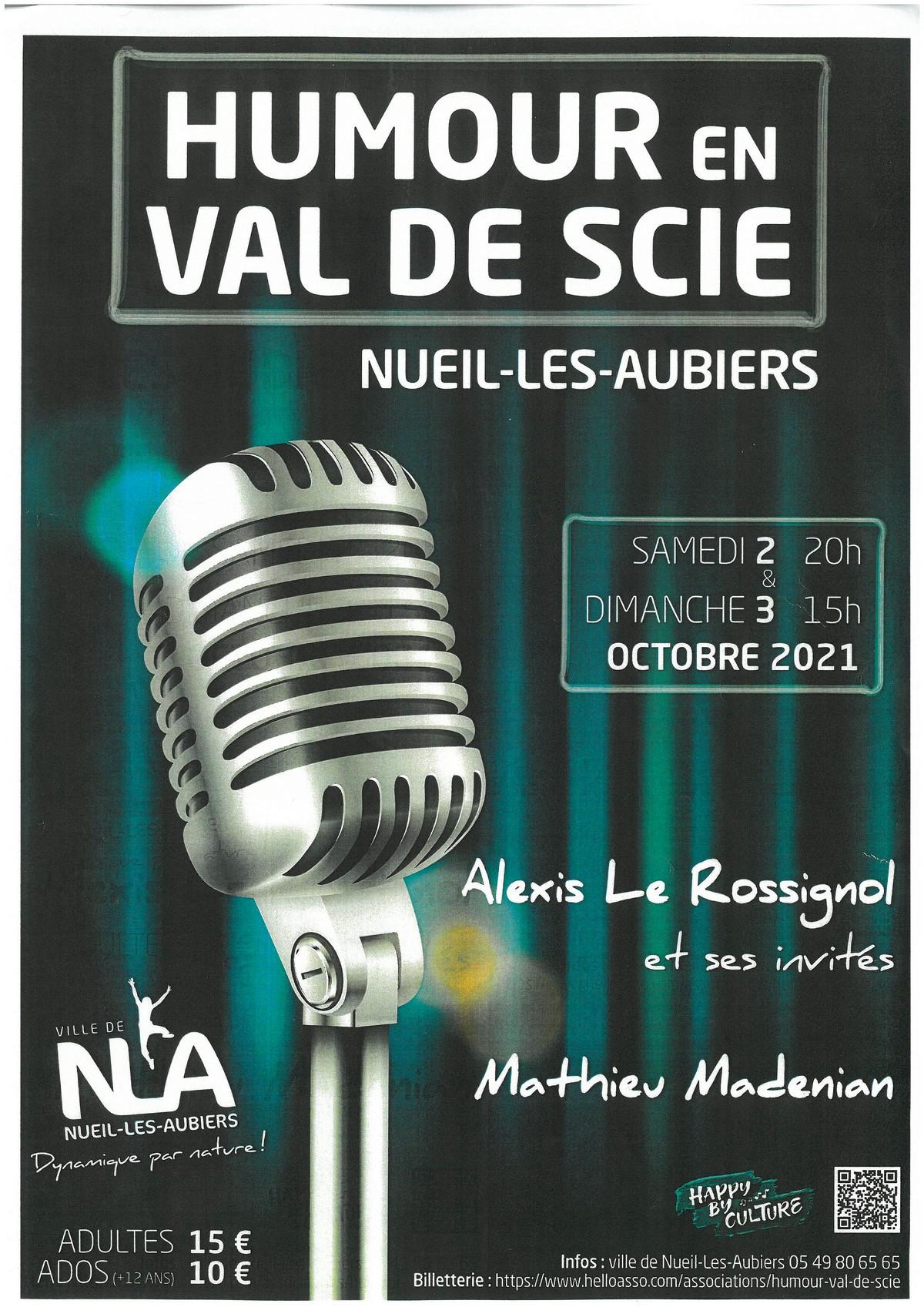 Humour en Val de Scie Nueil-les-Aubiers