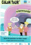 """Journée """"Sensibilisation à la lutte contre le Cancer du Côlon"""" Figeac   2021-09-28"""