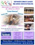 Séance découverte de Line Dance par Rennes Line Dance La Maison Bleue Rennes
