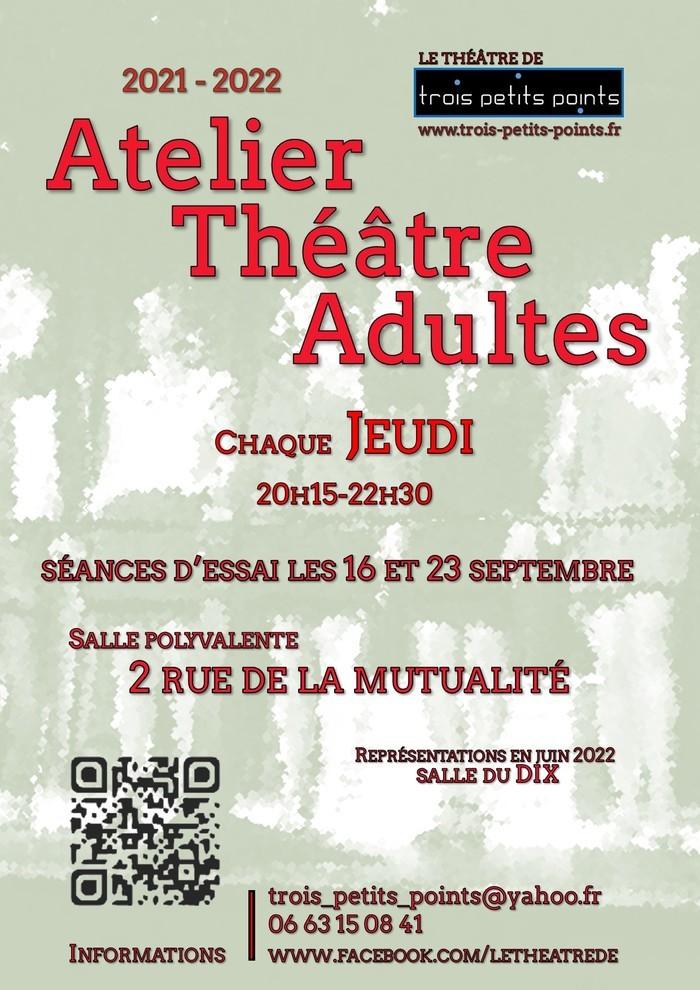 ATELIER THEATRE ADULTES La Mutualité Nantes