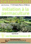 Initiation à la permaculture- Ile d'Oléron- 2 et 3 octobre 2021 Les Ferrières Saint-Pierre-d'Oléron