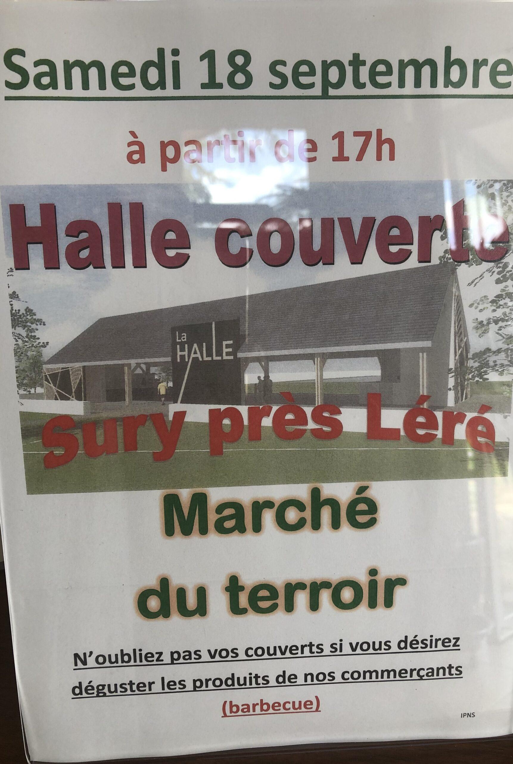Marché du terroir Sury-près-Léré