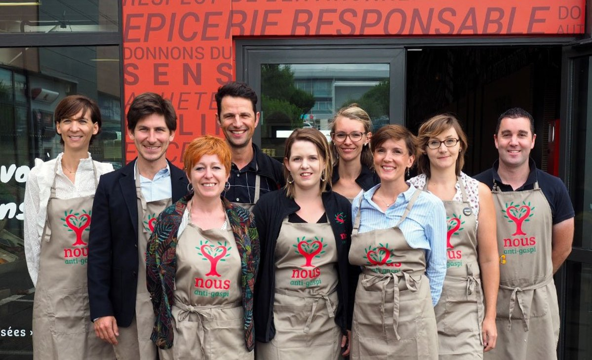Equipe Epicerie Anti-gaspi Nous
