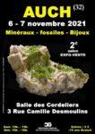 2e Salon Minéraux Fossiles Bijoux de AUCH (Gers) Salle des Cordeliers Auch