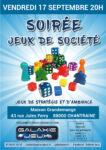 SOIRÉE JEUX DE SOCIÉTÉ Chantraine   2021-09-17