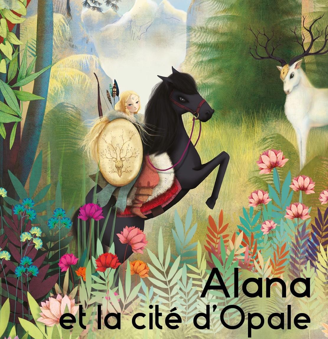 """Spectacle équestre """"Alana et la cité d'Opale"""" Chantilly"""