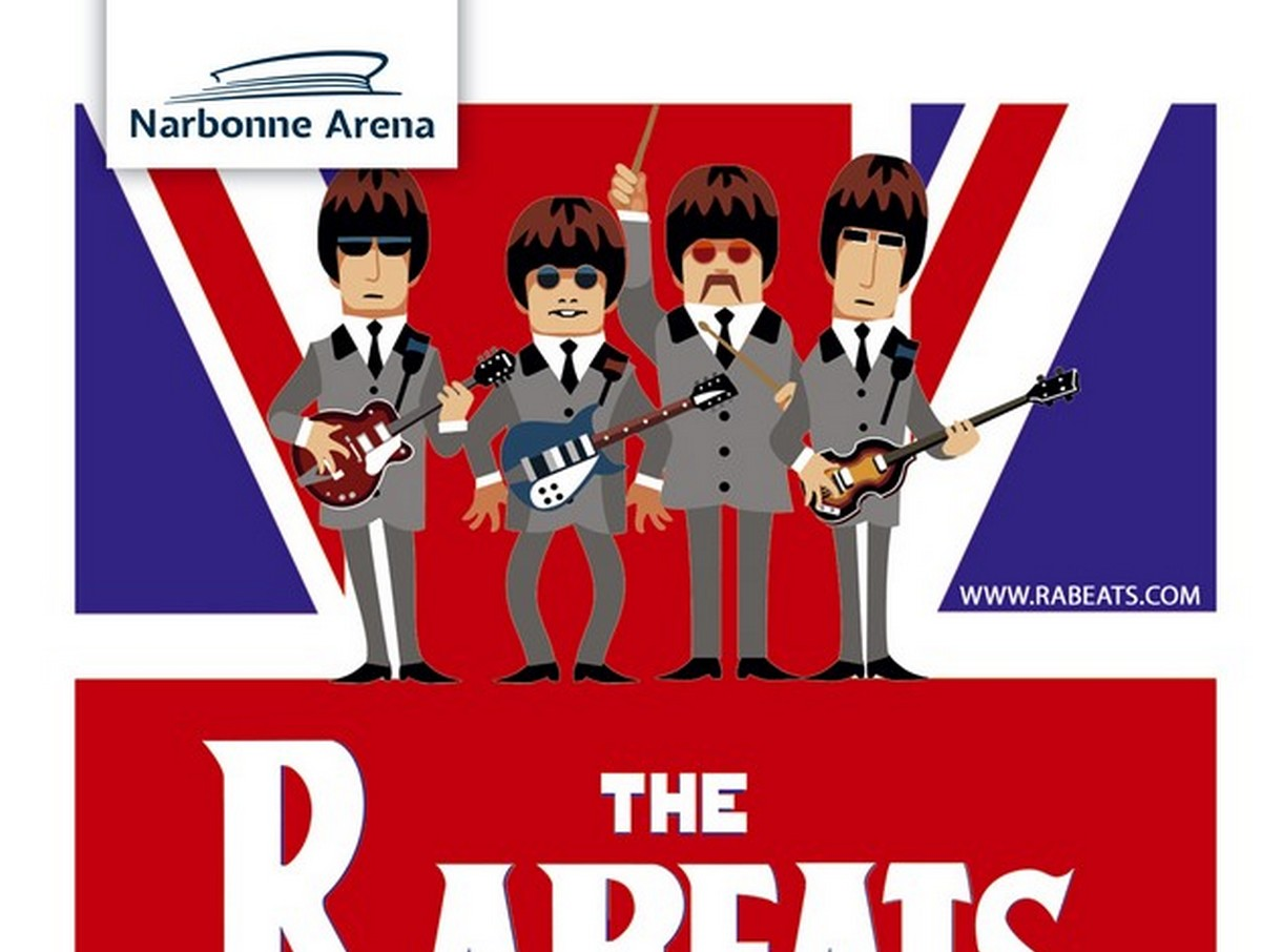 THE RABEATS : BEST OF THE BEATLES Narbonne