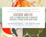 Atelier adulte - Histoire de Fables à la Maison Matisse Bohain-en-Vermandois   2021-10-24