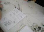 Atelier d'initiation au dessin manga Bibliothèque Glacière - Marina Tsvetaïeva Paris