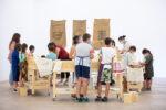 """Ateliers Pom*Pompidou autour de l'Exposition """"Assemblée Pirate"""" Cajarc"""