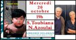 Cinéma : Serge Toubiana et Nathalie Azoulai chez Delamain ! Librairie Delamain Paris