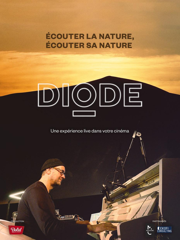 Concert Live DIODE - Cinéma les 5 Caumartin Cinéma Caumartin Paris