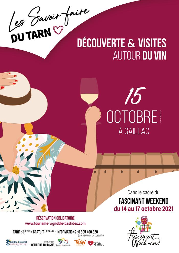 Le Fascinant Week-end au cœur du vignoble de Gaillac du 14 au 17 octobre 2021 Domaine de Veyssette