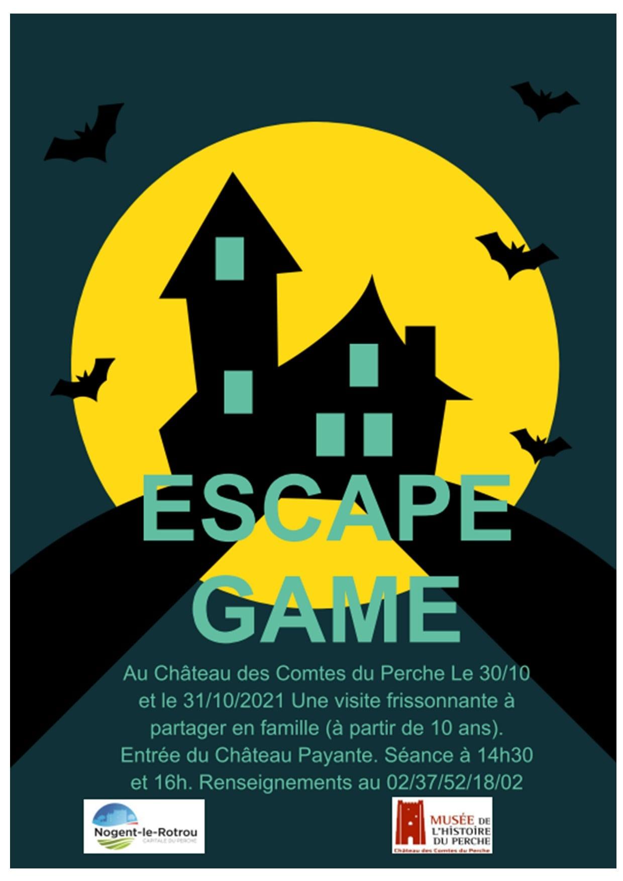 Escape Game au château Nogent-le-Rotrou