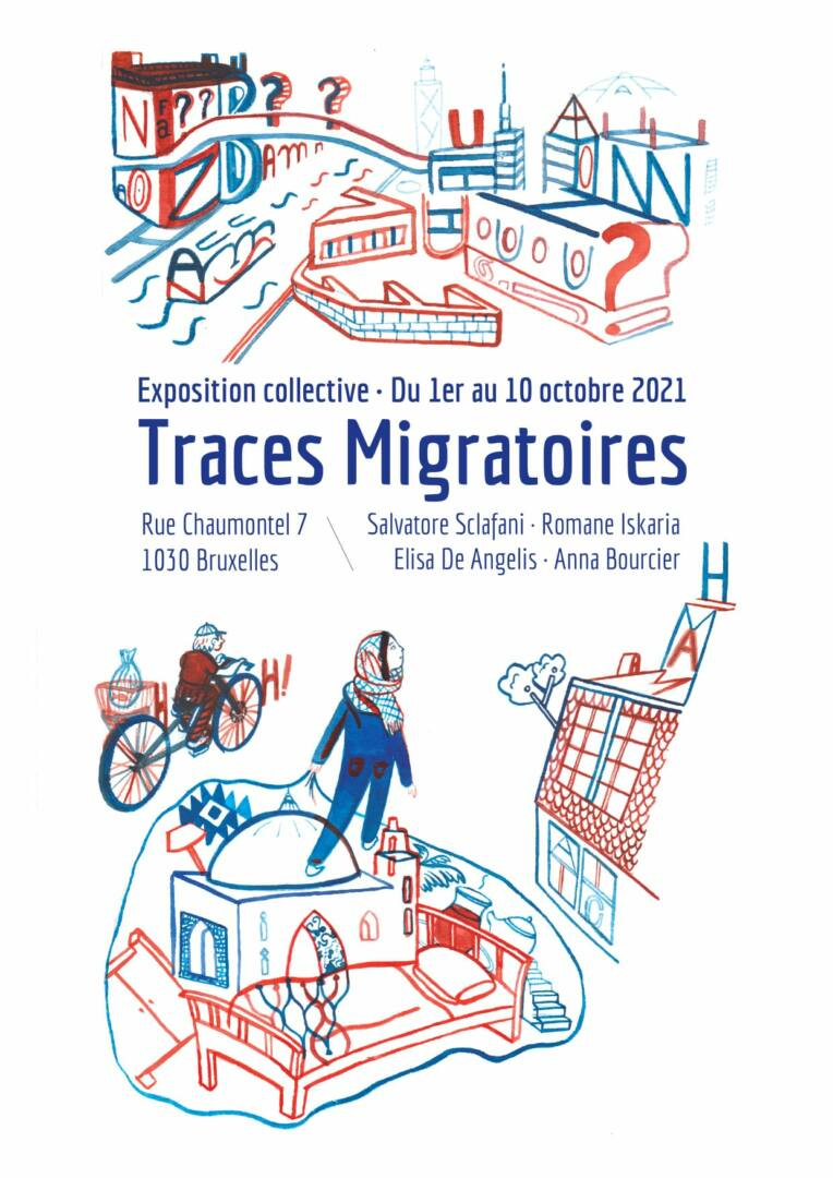 expo traces migratoire bruxelles