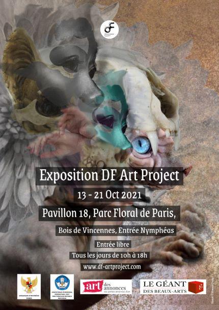 EXPOSITION DF ART PROJECT 2021 AU PARC FLORAL DE PARIS Parc Floral de Paris