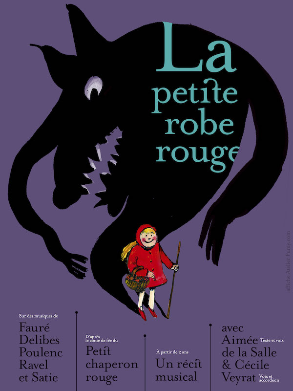 La petite robe rouge Les trois baudets Paris