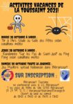 Les Vacances de la Toussaint à Blérancourt : Activités loisirs Blérancourt