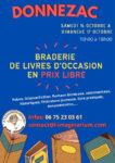 Braderie de livres d'occasion en prix libre l'Imaginarium - le Bourg - 33860 DONNEZAC Donnezac