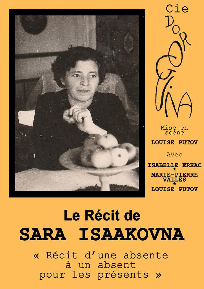 Le récit de Sara Isaaknova par la Cie Doroguina. Théâtre ici et là! Maison de quartier La Bellangerais Rennes