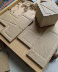 Atelier Typo avec Maïté Rouault Maison du livre Bécherel