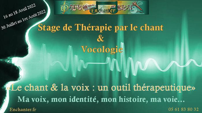 Stage Thérapie par le chant et Vocologie en Avril 2022 Mascarville Mascarville
