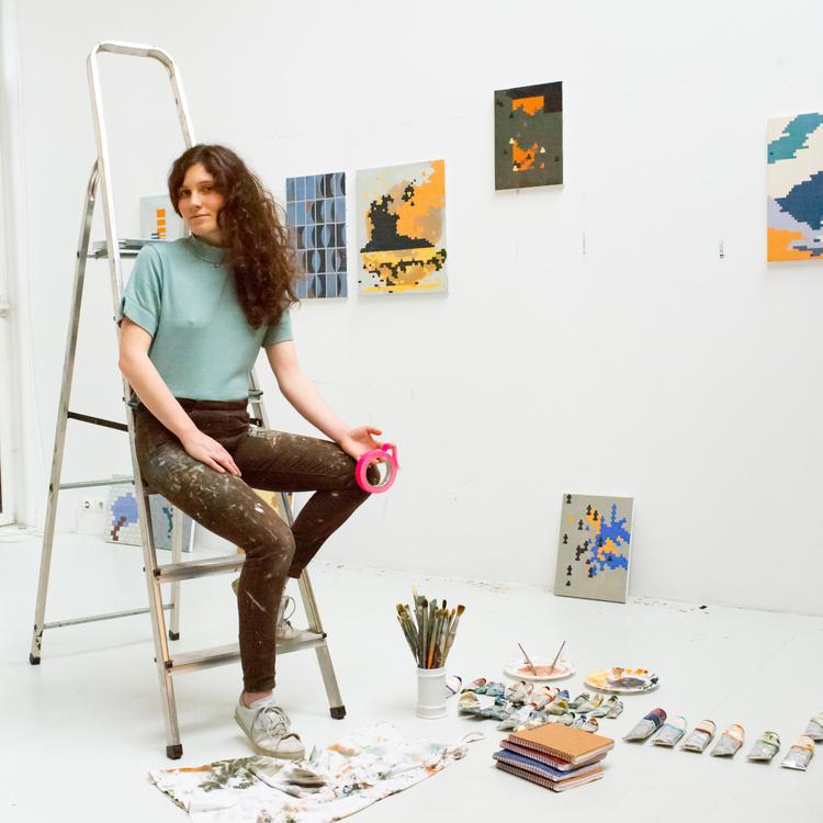 portrait Nelly Monnier
