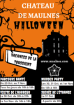 Parcours hanté dans le Château de Maulnes Cruzy-le-Châtel