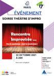 Soirée théâtre d'impro (à partir de 16 ans) Centre Paris Anim' Interclub 17 Paris