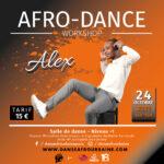 Stage de danse afro avec Alex Maxime Centre Sportif Micheline Ostermeyer (ex Pajol) Paris