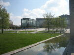 Un Jardins contemporain : Le parc André Citroën Maison du Jardinage - Pôle ressource Jardinage Urbain Paris