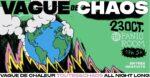 Vague de Chaos - dernière teuf avant le nouveau monde Panic Room Paris