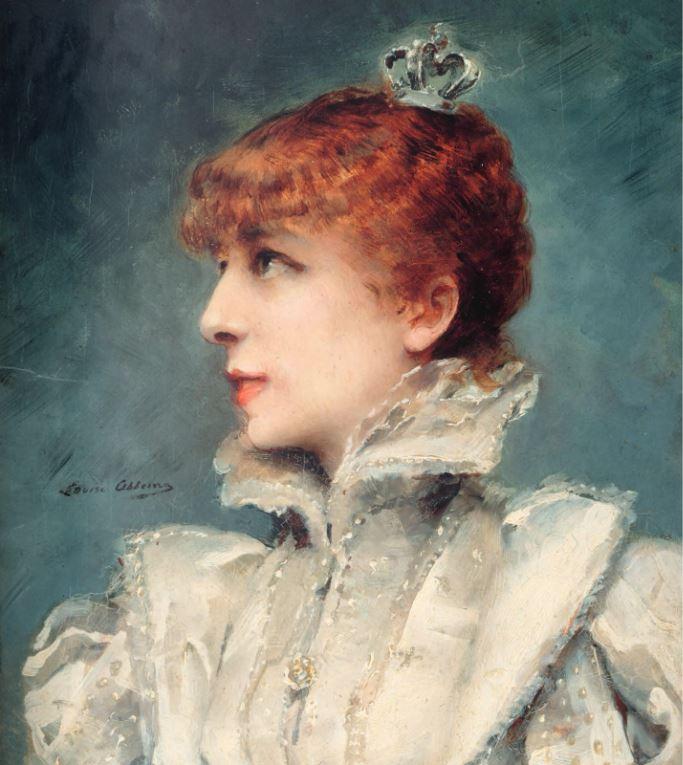Sarah Bernhardt par Louise Abbéma