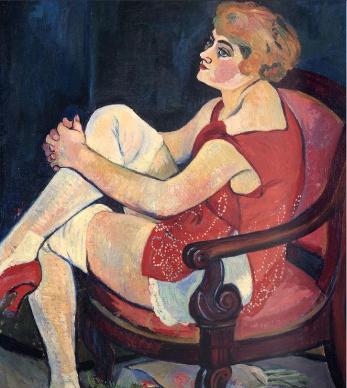 Suzanne Valadon, Femme aux bas blancs