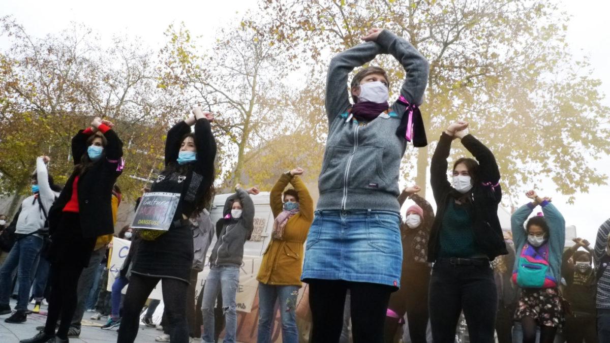 rassemblement violences femmes